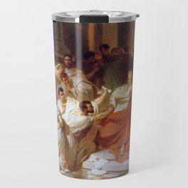 Karl Theodor von Piloty - Murder of Caesar Travel Mug