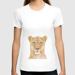 Lioness Art Print by Zouzounio Art T-shirt