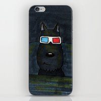 cinema iPhone & iPod Skins featuring Cinema by Lisidza's art