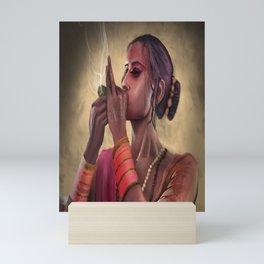 Ganja Girl Mini Art Print