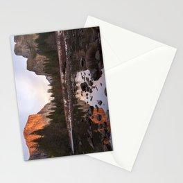 Yosemite - El Capitan & Merced River - Sunset in Winter Stationery Cards