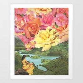 Summer Skies Art Print