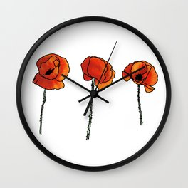 Domaine Coquelicots - Coquelicots - Wall Clock