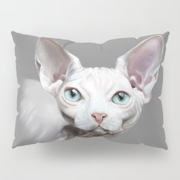 Sphynx cat Pillow Sham