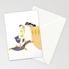 Jasmine and Aladdin Stationery Cards