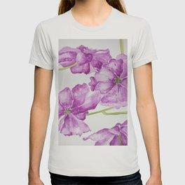 Flower lilac T-shirt