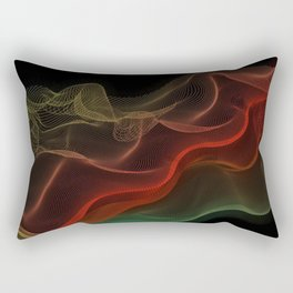 Almost Fluorescent Aurora String Theory #3  Rectangular Pillow
