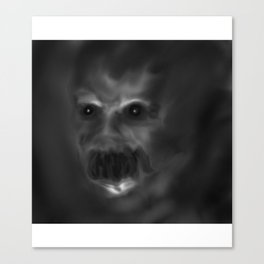 It sees you in the dark Canvas Print