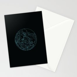 Black Magma 2 Stationery Cards