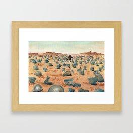 The Battlefield. Framed Art Print