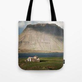 Kirkjufell #1 Tote Bag