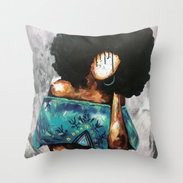 Naturally Rhonda Throw Pillow