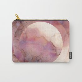 coral marble Carry-All Pouch