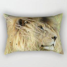 Leo Panthera African lion Rectangular Pillow