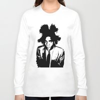 basquiat Long Sleeve T-shirts featuring BASQUIAT by KING