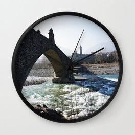 The Bridge - Italy Wall Clock
