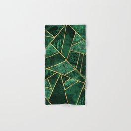 Deep Emerald Hand & Bath Towel