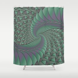 Dragon Wings Shower Curtain