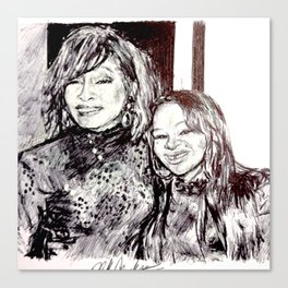 NIPPY & WHITNEY Canvas Print