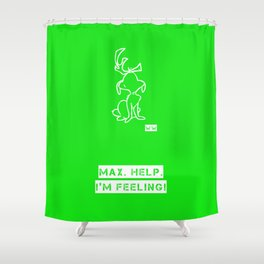 GRINCH Shower Curtain