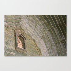 Green Waves Canvas Print