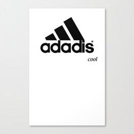 ADADIS ADIDAS .. COOL .. FOR LIGHT COLOURED T-SHIRTS CLOTHING Canvas Print