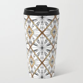 Geometric mosaic Travel Mug