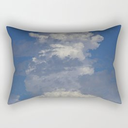 Epic Cloud Event Arising Upward Toward Eternity Rectangular Pillow