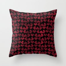 Colorful Love Pattern XV Throw Pillow