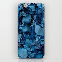 Indigo Abstract Painting   No. 8 iPhone Skin