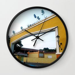Spanish style entrance @ Rincon Wall Clock