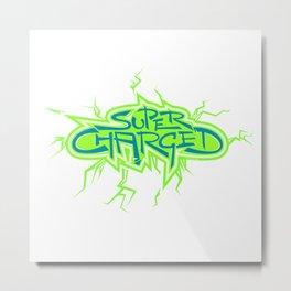 Super Charged High Metal Print