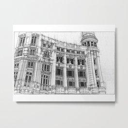 Casa de Allende Metal Print