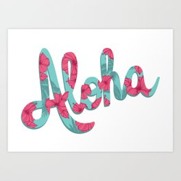 Aloha Spirit Art Print
