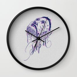 If it melts you. Stop it! Wall Clock