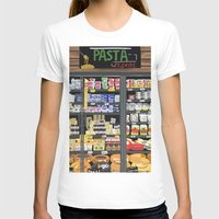 pasta T-shirts featuring Pasta Land by Teddy Kang's Art