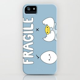 Fragile! iPhone Case