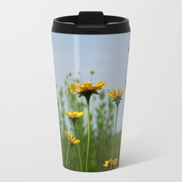 Reaching for the sky - prairie Heliopsis Travel Mug