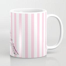 Pink Paris Eiffel Tower Coffee Mug