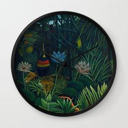 """Henri Rousseau """"The Dream - Detail"""" Wall Clock"""