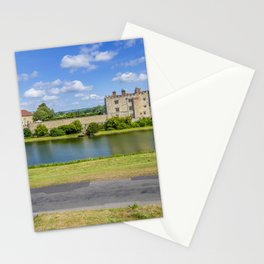 Leeds Castle Bench View 2 Stationery Cards