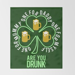 St Patrick  Throw Blanket