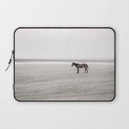 Horse a la playa Laptop Sleeve