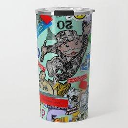 Vintage Monopoly Game Memories Travel Mug