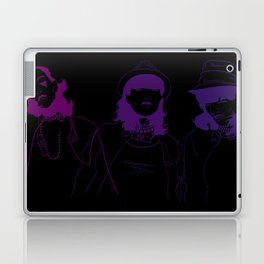 Run Purple Run Laptop & iPad Skin
