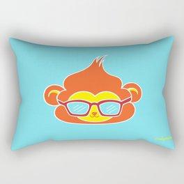 Cool Vibes Monkey Rectangular Pillow