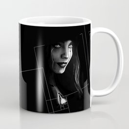 Cyborg Beauty Coffee Mug