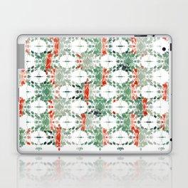 estrela_turqouise&red_no2 Laptop & iPad Skin