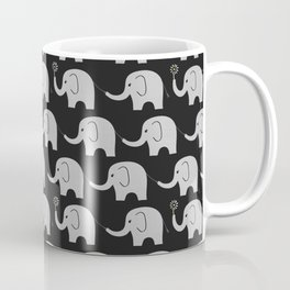 Midnight Elephant Parade Coffee Mug