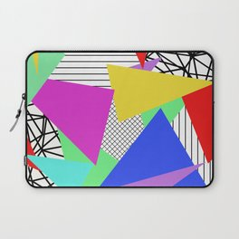 Bits And Pieces - Retro, random, abstract pattern Laptop Sleeve